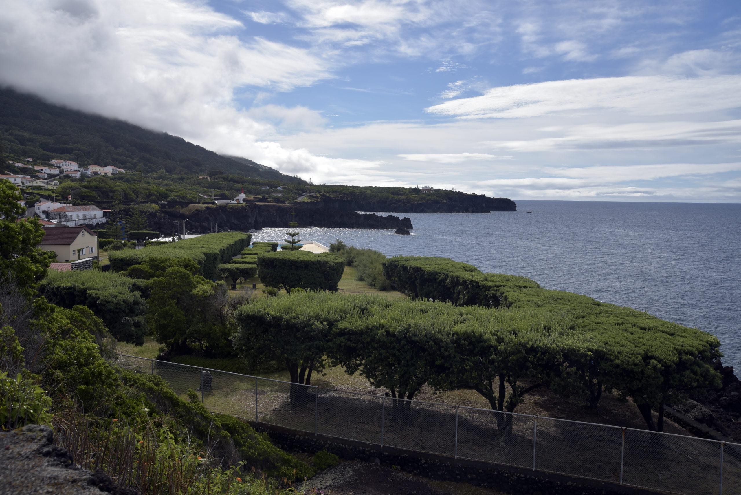 Parque de Campismo da Urzelina, ilha de São Jorge