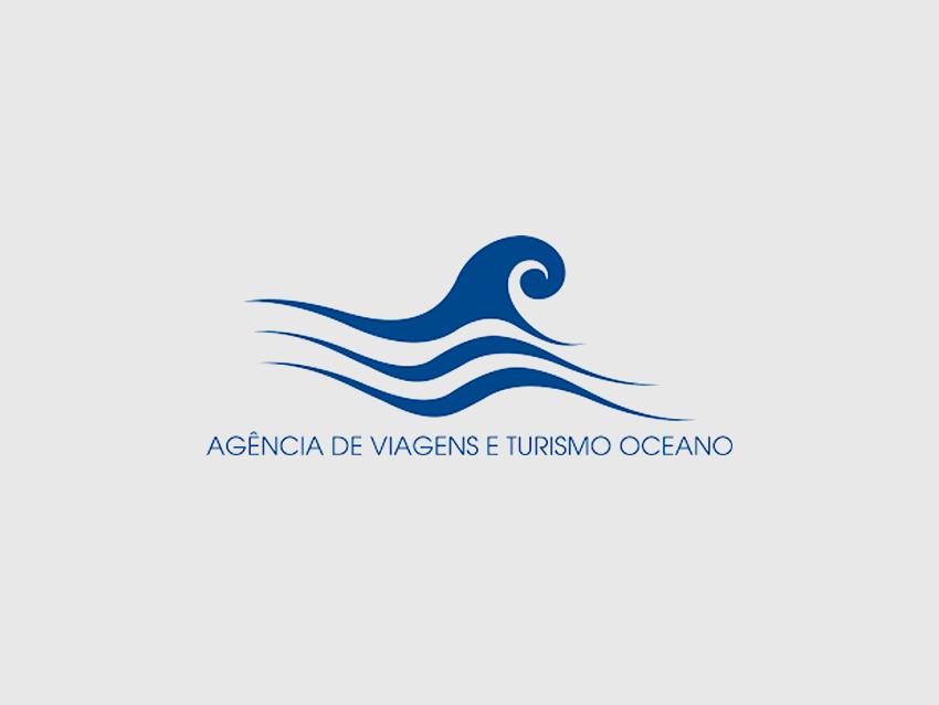 Logo Agência de Viagens Oceano, Ilha de São Jorge