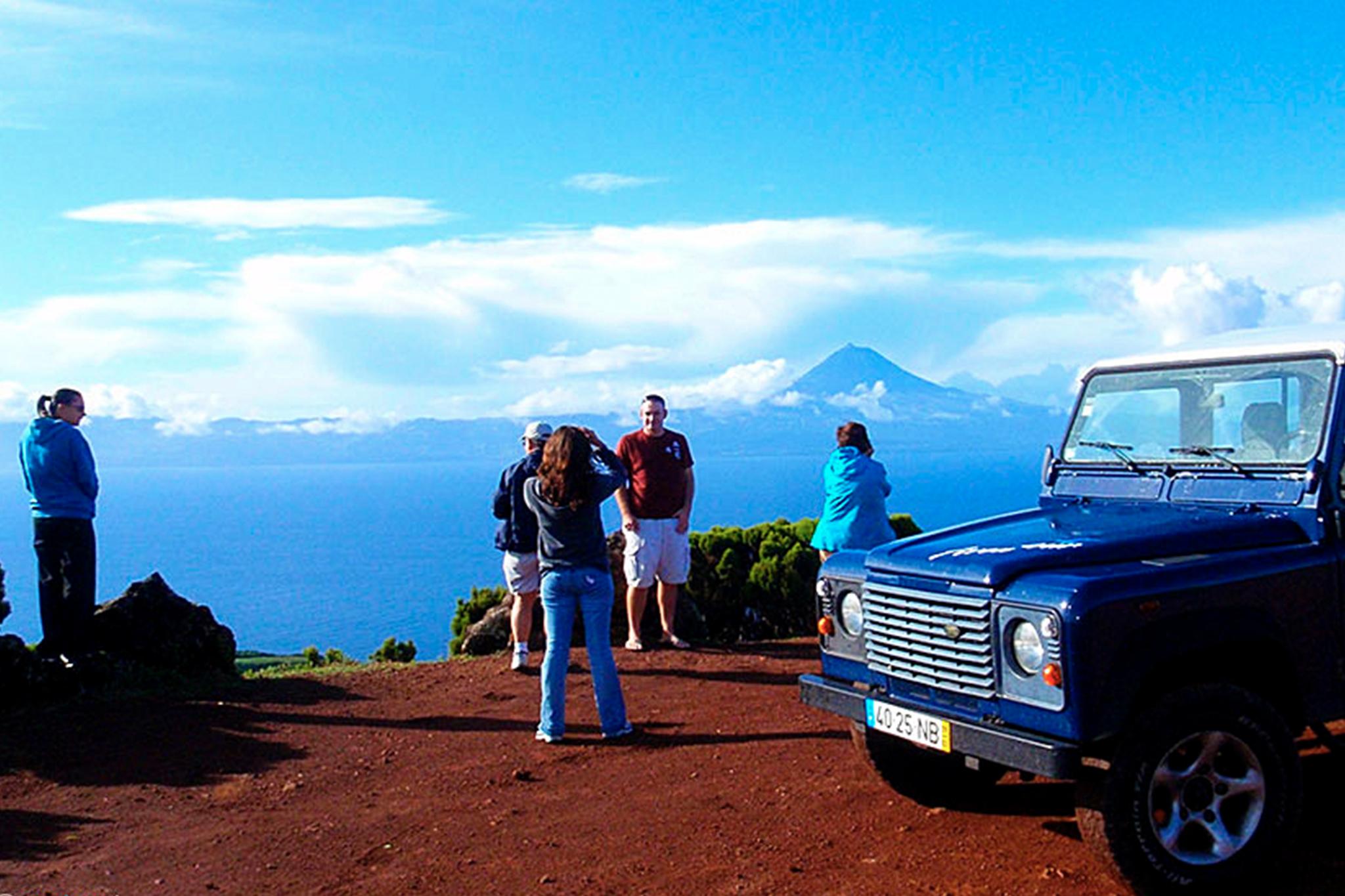 Passeios de Jipe, Ilha de São Jorge